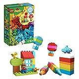 LEGO DUPLO My First - Diversión Creativa, Juguete Preescolar Creativo de Construcción con Muñeco para Niños y Niñas a Partir de 1 Año y Medio (10887)