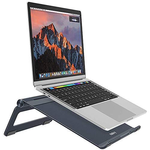 Nulaxy Supporto Regolabile per Laptop, Supporto Portatile Pieghevole Universale in Alluminio per...