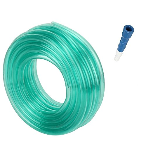 Truphe Garden Pipe, Garden Hose Water Pipe, PVC Pipe - 0.5 Inch / 10 Meters With Hose Connector