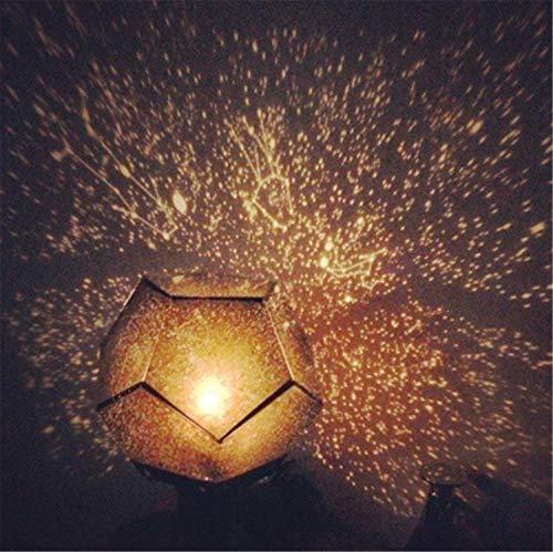 ELEGENCE-Z Lampada da proiezione, Proiettore Stelle Romantico a Quattro Stelle, Vigilia di Natale,...