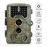 iado Caméra de Chasse Étanche IP65 Caméra de Surveillance Infrarouge...