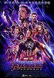 Sconosciuto Avengers: Endgame Film Poster Stampa Film Art Marvel 2019 Iron Man Thanos Ufficiale Poster del Film 017 (A5-a4-a3) - A4
