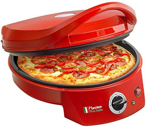 Bestron APZ400 Forno per Pizza, rosso