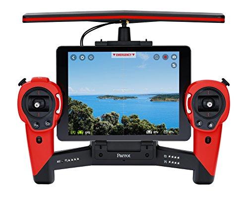 Parrot PF725000AE - Skycontroller per Bebop Drone, colore: Rosso
