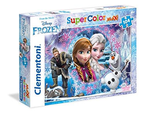 Clementoni Modello 23662 23662-Maxi Puzzle Frozen, 104 Pezzi, Multicolore, 806612
