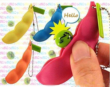 Spa-Bohnen-Squeeze-Spielzeug-Anhnger-Anti-Stress-Ball-Squeeze-Lustige-Gadgets-kingko-Sehr-einfach-zu-spielen