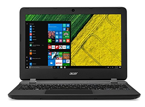 "Acer Aspire ES1-132-C61W - Ordenador Portátil de 11.6"" HD (Intel Celeron N3350, 2 GB RAM, 32 GB eMMC, Intel HD Graphics, Windows 10);Negro - Teclado QWERTY Español"