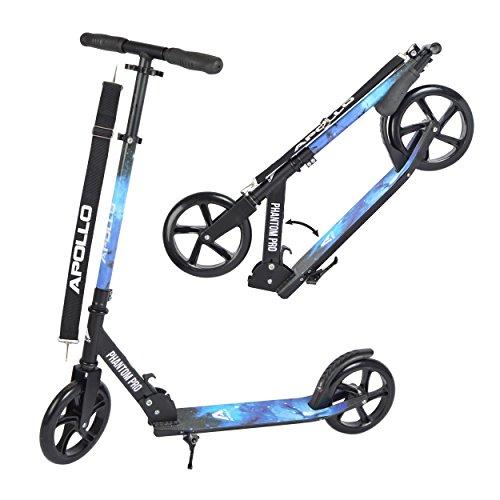 Apollo Monopattino XXL Wheel 200 mm - Phantom PRO Stelle è Un City Scooter di Lusso, City-Roller...