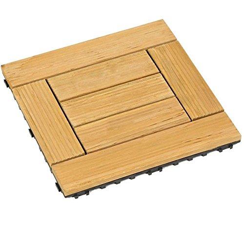 Diy pavimenti in legno/terrazza,balcone,mosaico parquet/parquet in legno diy-O 30x30cm(12x12inch)