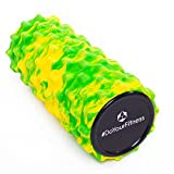 Faszien Rolle, Foamroller »Ishana« Graffiti New Style / Massage- und Therapierollen zur effektiven Selbstmassage / gelb-grün