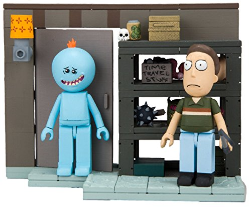 Rick and Morty - Smith Garage Family Rack Construction Set MCFARLANE