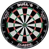 Bulls Darts Classic Bristle Board, Multicolor, One Size