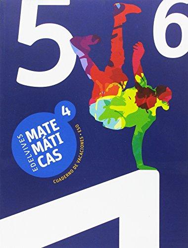 Cuaderno de Vacaciones Matemáticas 4.º ESO (Vacaciones Secundaria) - 9788414008386