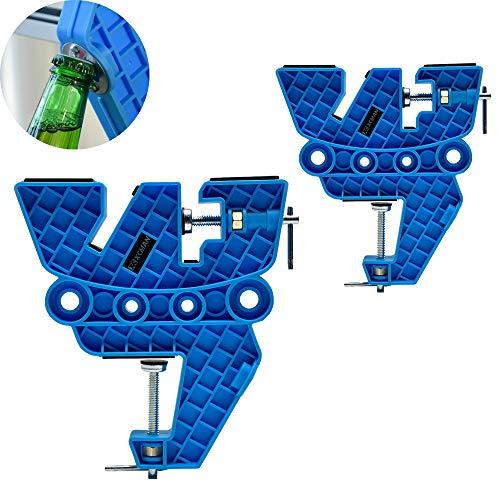 XCMAN Vise per Sci e Snowboard per accordare, ceretta e Riparazione, Set di manopole Antiscivolo con...