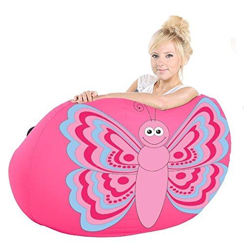 rucomfy Bean bags Beccy La Mariposa Bolsa De Frijoles A Gran