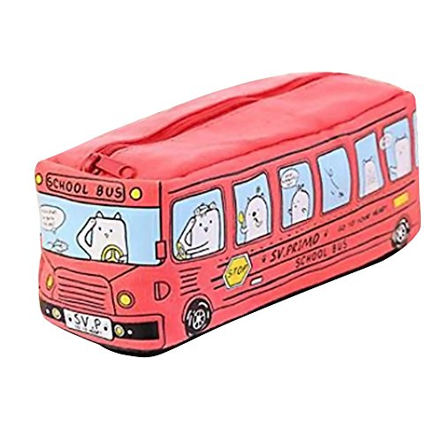 Gaddrt creative Pencil Case studenti bambini gatti School Bus Pencil Case bag ufficio Sstationery...