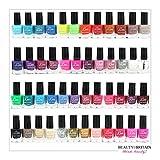 Set di 48 Smalti Per Unghie 48 Colori Diversi Perfetto Mix di Colori 5 ml