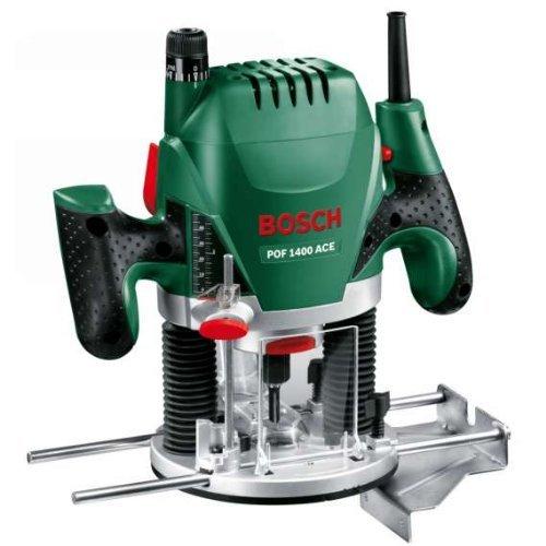 Bosch POF 1400 ACE - Fresadora de superficie, 1.400 W