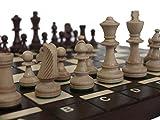 Chessebook BUG - Ajedrez de Madera, Tablero de 40 x 40...