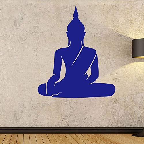 Adesivi murali Buddha seduto Adesivi murali rimovibili Chakra Mandala Mandala Chakra Adesivi per...