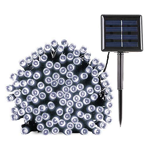 Luci stringa solari, BrizLabs 22M 200 LED Catena luminosa esterno solare illuminazione Impermeabile...