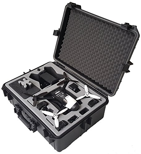Valigia per il Parrot Bebop 2 FPV- Skycontroller 2 e gli occhiali video di MC-CASES!