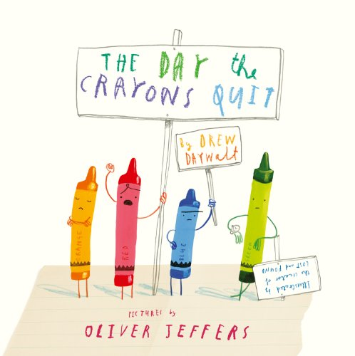 The Day The Crayons Quit by [Daywalt, Drew]