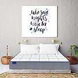 SLEEPSPA by Coir fit Duet-X 5' Inch Single Size High Density HR Foam Mattress (72x36x5, White)