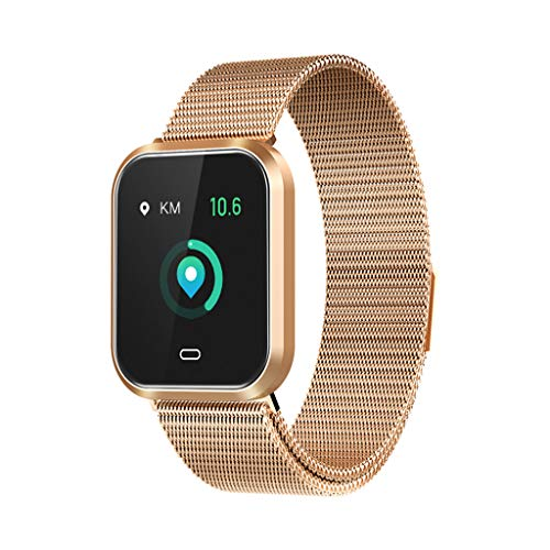 TianranRT Smart Watch Man,Q7S Smart Watch Frequenza Cardiaca Pressione Del Sangue Sleep Clock...