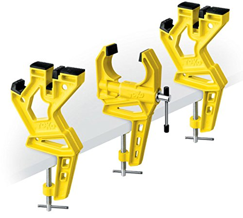 Toko - Ski Vise Race, Colore: Yellow