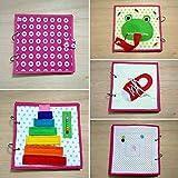 Libro sensorial de tela y fieltro babybookspain