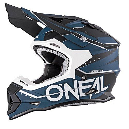 O'Neal 2Series RL MX Helm Slingshot Schwarz Blau Moto Cross Enduro Quad Offroad DH, 0200-03, Größe M