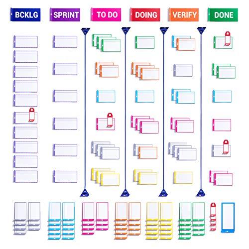 Scrum board set con carte magnetiche di PATboard | Magneti per agile, scrum, kanban | Carta del...
