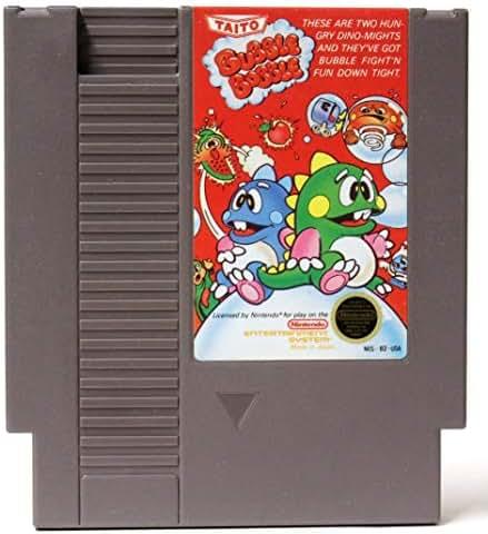 Bubble Bobble – Nintendo NES (Renewed)