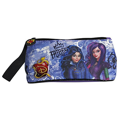 Perletti Descendants, Astuccio per la scuola serie animata Disney Descendants 10x21x8 cm