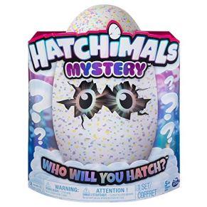 HATCHIMALS Mystery - Hatch 1 de 4 Personajes de Misterio interactivos esponjosos de Cloud Cove (los Estilos Pueden…
