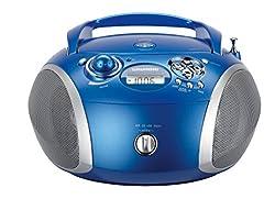 Kaufen Grundig GRB 2000 Tragbare Radio Boombox blau/silber