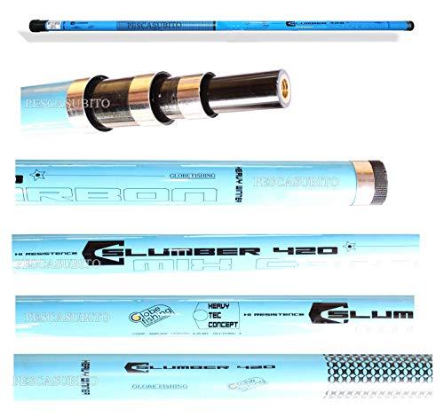 Manico Guadino 6.50Mt Mix Carbonio Telescopico Palo Pesca