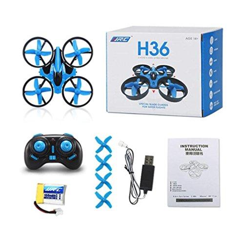 J - NEGOZIO Drone, Giocattolo Drone Aereo Telecomandato Aereo, JJRC H36 6-axis Gyro Headless Mode...