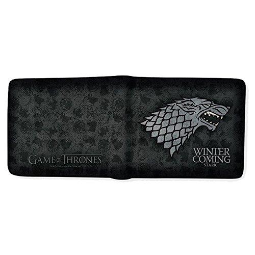 """Juego de Tronos abybag166""""casa de Stark Winter Is Coming billetera"""