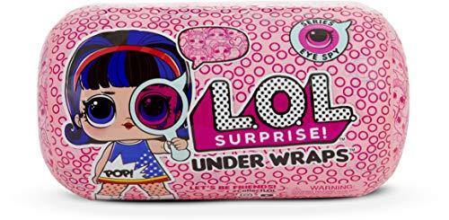 LOL Surprise ! 552055E7C Under Wraps-Eye Spy 1A - Bambola con Costume, Colori assortiti, 1 pezzo