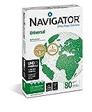Navigator Universal - Papel para fotocopiadoras (A4, 500 hojas, 80 g/m3)