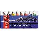 Caran d'Ache Gouache Studio - Juego de 9 utensilios de cocina