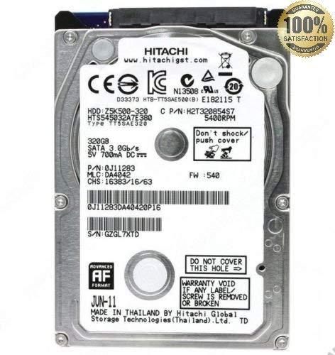 HARD DISK 320GB Sata 2.5' / Grade A (Ricondizionato Certificato) (TOSHIBA)
