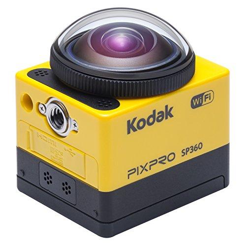 Kodak PixPro SP360 fotocamera per sport d'azione Full HD MOS 17,52 MP 25,4/2,33 mm (1/2.33') Wi-Fi 103 g