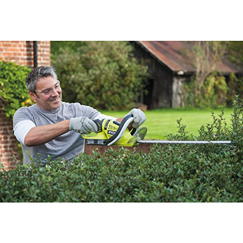 There are plenty of hedge trimmers on the market but if your after a compact, well-built and high performing tool, the Ryobi OHT1855R ONE+ Cordless Hedge Trimmer with HedgeSweep is truly a great option.