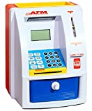 Lets Deal ATM Machine Piggy Bank with Personal ATM Card and LCD Display for Kids, Multi Color