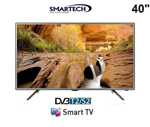 Smart-Tech LE-4048SA 40' Full HD Smart TV Wi-Fi Silver LED TV - LED TVs (101.6 cm (40'), 1920 x 1080...