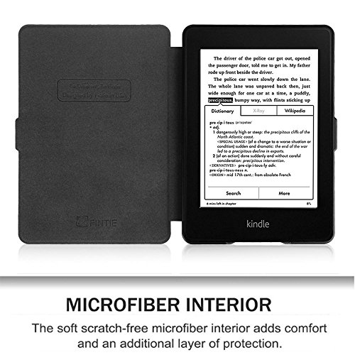 MOCA Paperwhite 1 2 3 PU Leather with Auto Wake/Sleep Flip Case Cover for Amazon Kindle 6-inch Display 7  MOCA Paperwhite 1 2 3 PU Leather with Auto Wake/Sleep Flip Case Cover for Amazon Kindle 6-inch Display 517 83g1VOL