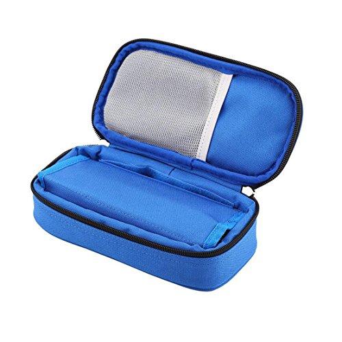 Vianber Borsa termica portatile per insulina Borsa termica per assistenza medica Custodia protettiva...